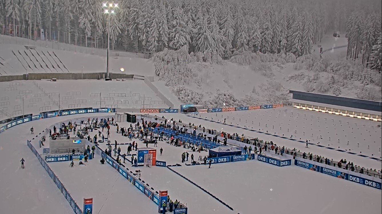 Bautagebuch Biathlon WM 2023