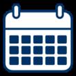 Piktogramm Kalender der Bau-Cloud
